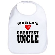 Worlds Greatest Uncle Bib