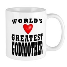 Worlds Greatest Godmother Mug