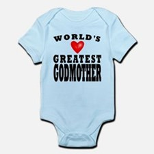 Worlds Greatest Godmother Body Suit