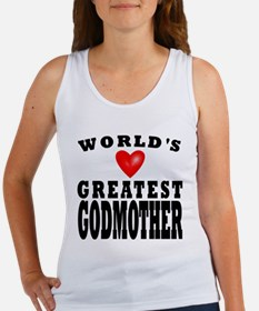 Worlds Greatest Godmother Tank Top
