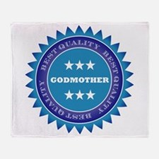 Best Quality God Mother Throw Blanket