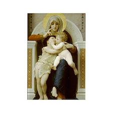 Virgin, Jesus & St. John Rectangle Magnet