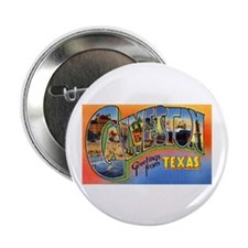 "Galveston Texas Greetings 2.25"" Button (10 pack)"
