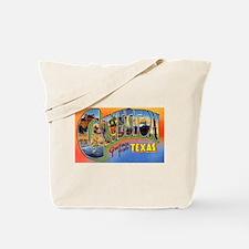 Galveston Texas Greetings Tote Bag