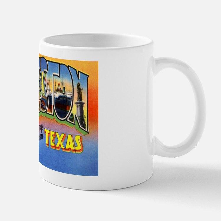 Galveston Texas Greetings Mug
