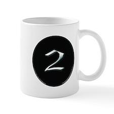 2nd Amendment Black Circle Black Mug