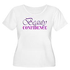 Beauty IS Confidence Plus Size T-Shirt