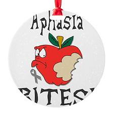 Aphasia Bites Ornament