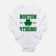 Boston Strong Long Sleeve Infant Bodysuit