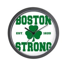 Boston Strong Wall Clock