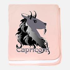 Whimsical Capricorn baby blanket