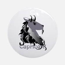 Whimsical Capricorn Ornament (Round)
