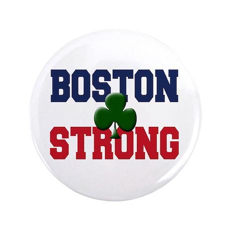 """Boston Strong 3.5"""" Button"""