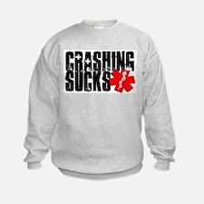 Crashing Sucks II Sweatshirt