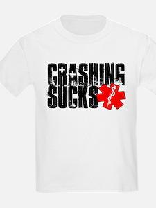 Crashing Sucks II Kids T-Shirt