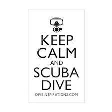 Keep Calm Scuba Dive Decal