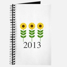 Personalizable Sunflowers Journal