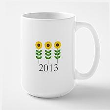 Personalizable Sunflowers Mug