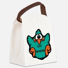 cluck-agoraphobia.png Canvas Lunch Bag