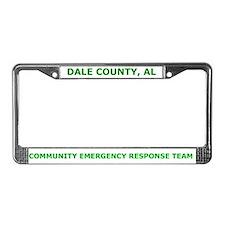 Dale County, AL CERT License Plate Frame