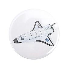 "Space Shuttle 3.5"" Button"