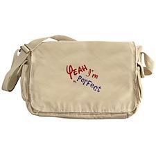 I'm Mr Perfect Funny Design Messenger Bag