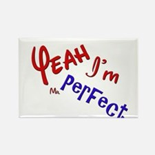 I'm Mr Perfect Funny Design Rectangle Magnet