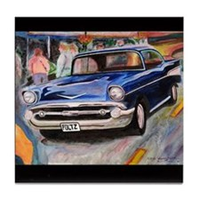57 Chevrolet Bel Air Tile Coaster
