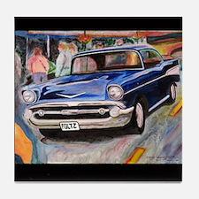 57 Chevrolet Bel Air Tile Coaster