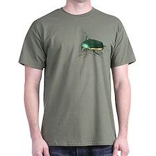 June Beetle Cotinus nitida T-Shirt
