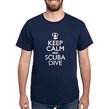 Keep Calm Scuba Dive T-Shirt