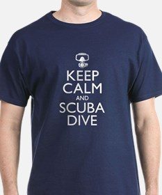 Keep Calm Scuba Dive T-Shirt