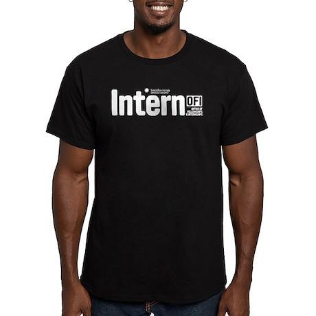 Smithsonian Intern Men's Fitted T-Shirt (dark)