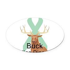 buck-celiac-disease.png Oval Car Magnet