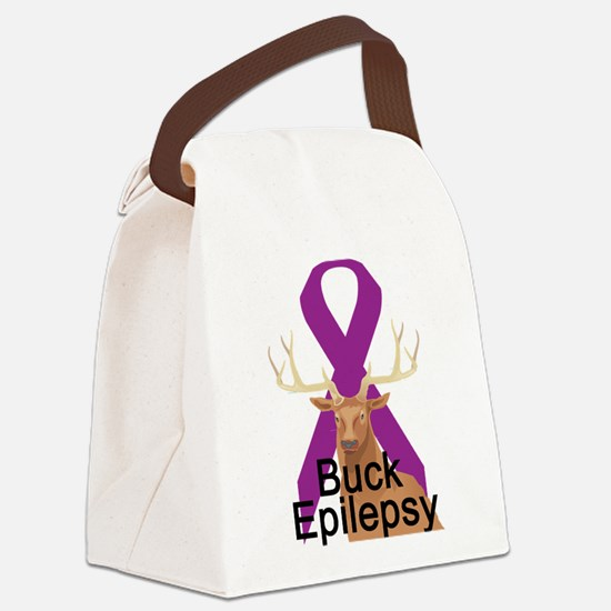 3-buck-epilepsy.png Canvas Lunch Bag