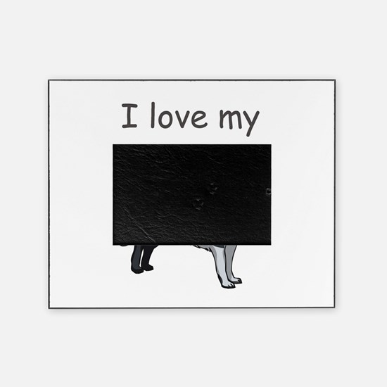 boarder-collie,i-love-my,pn.png Picture Frame
