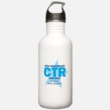 30th Anniversary CTR Logo Water Bottle