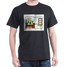 A Touch of Humor Chair Massage Comic T-Shirt