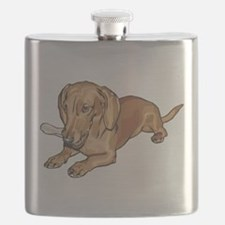 dachshund2.png Flask