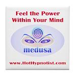Medusa Show Tile Coaster