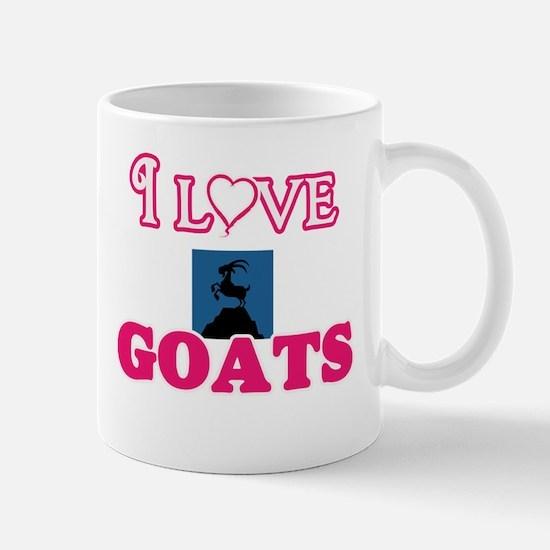 I Love Goats Mugs
