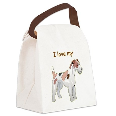 wirehair-fox,i-love-my,png.png Canvas Lunch Bag
