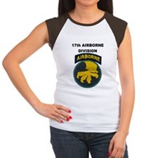 17TH AIRBORNE DIVISION Women's Cap Sleeve T-Shirt