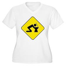 Alkohol Plus Size T-Shirt