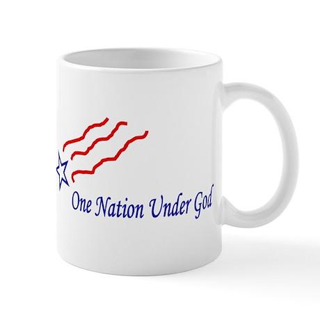 One Nation Star Mug