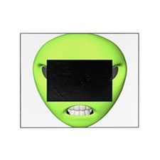 green-mean-alien.png Picture Frame