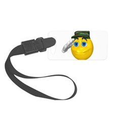 y-salute-army.png Luggage Tag