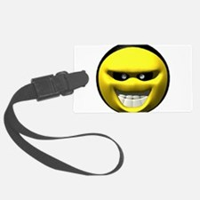yell-evil-face.png Luggage Tag