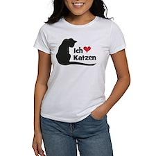 Ich liebe Katzen T-Shirt