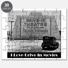 I Love Drive-In Movies Puzzle